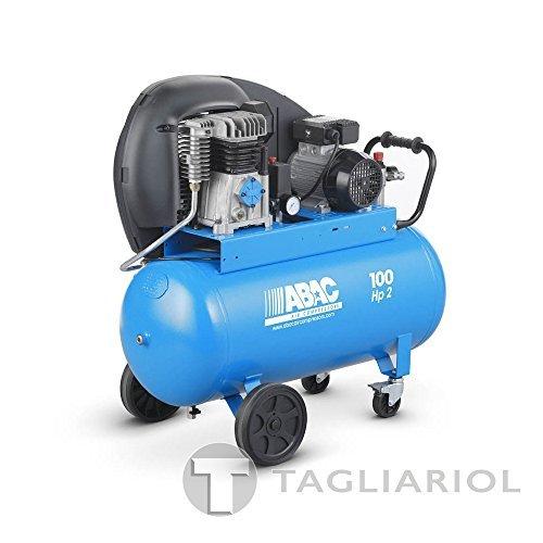 Compresor profesional Abac -100L Aire Comprimido Motor 2HP