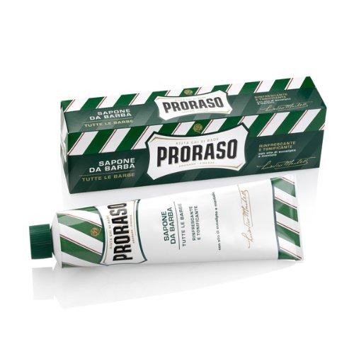 Proraso 6 er Pack Proraso Green Rasiercreme Refresh Tube 150 ml