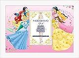 Póster con marco Princesas Disney personalizado