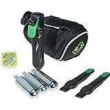 Slime CO2 Kartuschen Set Deluxe Seat Bag Inflation Kit, G2537