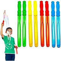 dazzling toys Big Bubble Wand con Solution Surtido Súper Paquete De Valor of Summer Juguete Obsequios