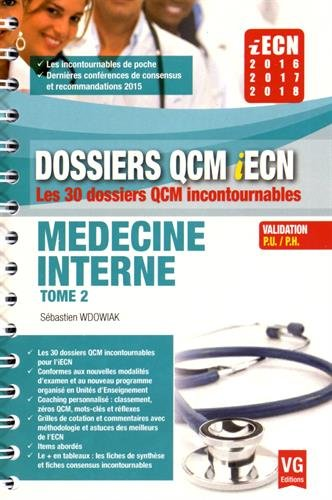 Médecine interne : Tome 2 par Sébastien Wdowiak