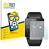 BROTECT AirGlass Flexible Glasfolie für Sony Smartwatch 2 Schutzfolie, Glas Folie - Extrahart, Ultraleicht