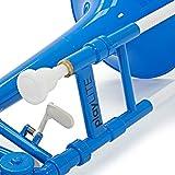 playLITE Trombone Hybride par Gear4music Bleu