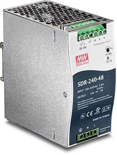 Trendnet TI-S24048 DIN Rail Stromversorgung für TI-PG80 48V 240W