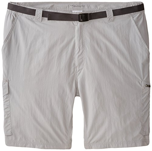 12 Pocket-cargo-shorts (Columbia Herren Silber Ridge Cargo Shorts, Herren, Silver Ridge, Columbia Grey, Size 34/12)