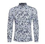 Luckycat Sommer beiläufige dünne Lange Hülsen Hemd Spitzenbluse der Persönlichkeits Männer Mode 2018