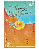 American Greetings Butterfly Thank You Card with Glitter