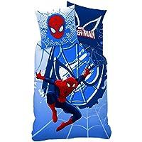 CTI 042771 Spiderman Webhead Bettwäsche, Bettbezug 140x200cm, Kopfkissenbezug 63 x 63 cm, Baumwolle, Mehrfarbig