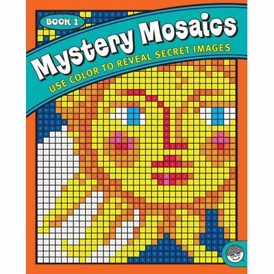 Mystery Mosaics: Book 1 by Mindware [Toy]