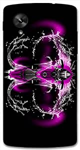 Timpax protective Armor Hard Bumper Back Case Cover. Multicolor printed on 3 Dimensional case with latest & finest graphic design art. Compatible with Google Nexus-5 Design No : TDZ-27466