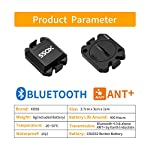 XOSS-Cadenzavelocit-Sensore-per-Bike-Computer-Smartphone-BluetoothAnt-Dual-Mode-Bicicletta-Bicicletta-Wireless