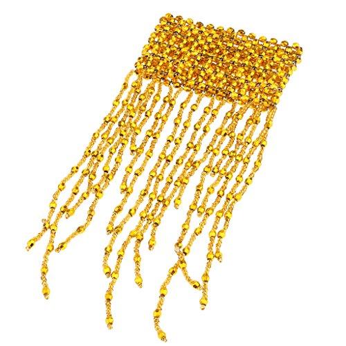 Baoblaze Bauchtanz Kostüm Strass Kristall Armband Armkette für Frauen Mädchen - Gold (Tanz Kostüme Online Zum Verkauf)