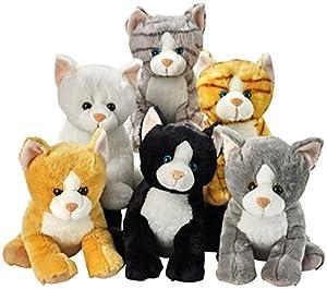 Lelly 25cm Colores Surtidos Sentado Peluche de Gatos