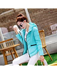 WJP mujeres ultra ligero de la chaqueta poco voluminoso abajo Outwear amortiguar por la chaqueta W-2586