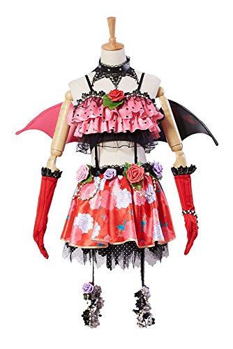 Love Live! New UR Nico Yazawa Little Demon Transformiert Uniform Halloween Cosplay Kostüm Damen (Nico Kostüm Yazawa)