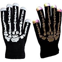 Mágico 7-Mode LED guantes Rave luz dedo iluminación intermitente guantes Unisex guantes–un par