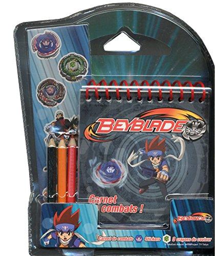 Beyblade N01 - Carnet de combats !