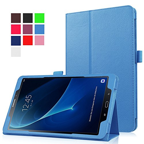 Hzssec PU Slim Folio Smart Cover per Samsung Galaxy Tab A 25,7 cm (sm-t580) Tablet, con supporto e porta