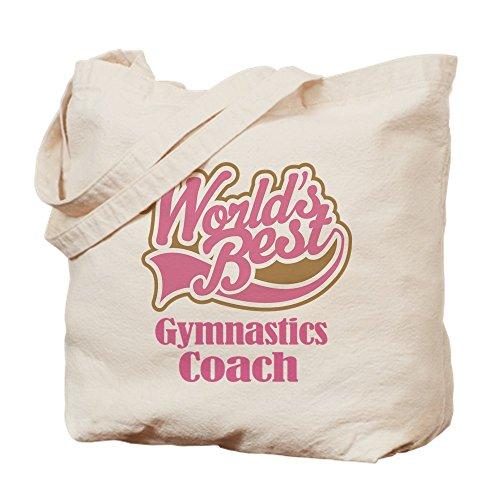 CafePress–Gymnastik Coach Geschenk–Leinwand Natur Tasche, Reinigungstuch Einkaufstasche Tote S khaki
