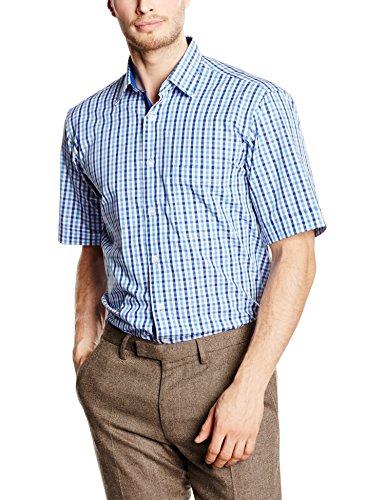 BlueBlack Herren Freizeithemd Eric Mehrfarbig (versch. Blautöne 15)