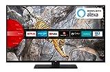 JVC LT-55V65LUA 140 cm (55 Zoll) Fernseher (4K Ultra HD, HDR10, Dolby Vision HDR, Triple Tuner, Smart TV, Bluetooth)