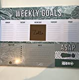 Zoella Lifestyle Weekly Goal Planner & Sticky Notes