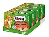Kitekat Katzenfutter Nassfutter Adult für erwachsene Katzen Bunte Vierfalt in