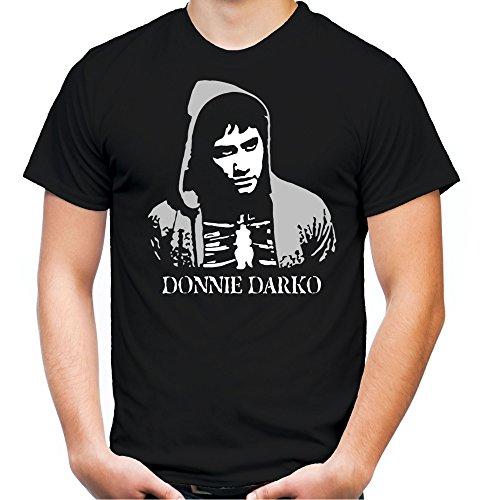 Donnie Darko Männer und Herren T-Shirt | Mask Kostüm Geschenk | M4 (S, (S Kostüm Darko)