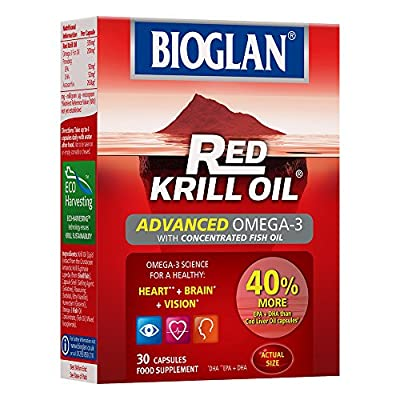 Red Krill Oil plus Omega 3 Fish Oil by Bioglan