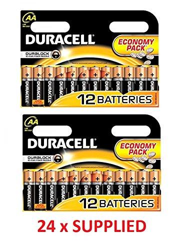 Duracell DUR019058 Plus Power AA Batterien (24 Stück) Iluv Batterie