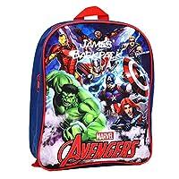 Personalised Avengers Backpack for Kids/Marvel Superhero/Back to School/Children Boys Rucksack Girls/Name/Durable/Toddler/31x 25 x 9 Centimetre