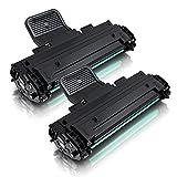 2x Kompatibler Toner für Samsung ersetzt ML-1610D2 ML-1610 ML-1615 ML-2010R ML-2510 ML-2570 ML-2571N SF-750 SF-755 SCX4521 ms-point®