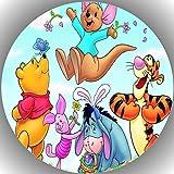 Premium Esspapier Tortenaufleger Tortenbild Geburtstag Winnie Pooh N4