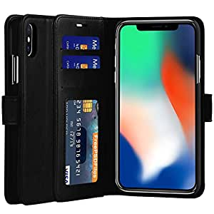 iphone x case cubevit iphone x leather case premium. Black Bedroom Furniture Sets. Home Design Ideas