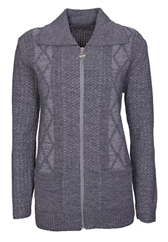 Lets Shop Shop -  Cardigan  - Donna Dark Grey