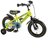 Volare Yipeeh Electric Green Kinderfahrrad 12