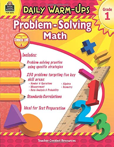 Daily Warm-Ups: Problem Solving Math Grade 1: Problem Solving Math Grade 1