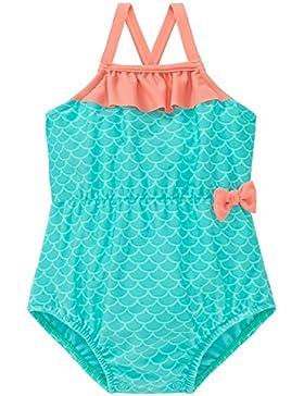 Schiesser Baby-Mädchen Badeanzug Seepferdchen Selina