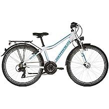 """Serious Rockaway Street - Bicicletas para niños - 24"""" blanco/Azul petróleo 2017"""