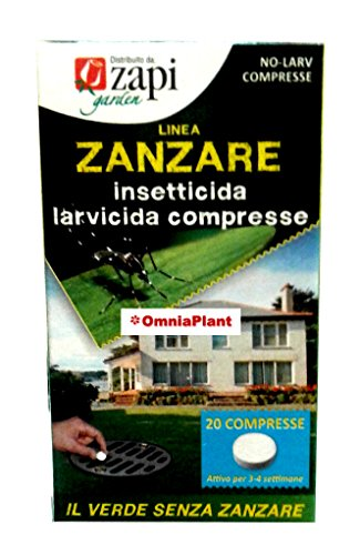 Zapi Zanzare Compresse 40Gr 20