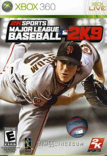 New Major League Baseball 2K9 Ingram Spiele Sport (Videospiel) - 360 Baseball-spiele, Xbox