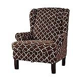Exuberanter Sofabezug - Sofabezüge, Sesselbezug Stretch, Abnehmbare, Waschbare, Kariertes Netz Muster Sofaüberwürfe