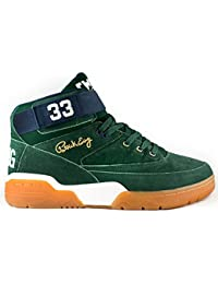 Ewing Athletics Ewing 33 MID Green Navy Gum Basketball Shoes Limited Edition Men