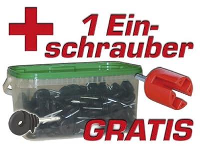Kerbl Ringisolatoren kompakt im Eimer, 100er Pack von Kerbl - Du und dein Garten