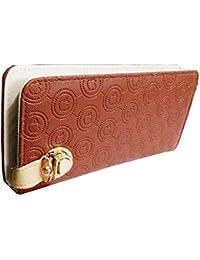 Sn Louis Canvas Brown Women Wallet SAMCO-744