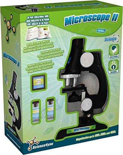 Science4you–482989–Mikroskop II–UK/FR/IT–Sterlingmotor und Wissenschaftliche