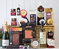 Traditional Scottish Feast Food & Drink Hamper from Fine Scottish Hampers