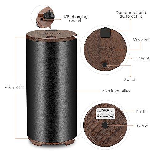 Mini-Portatile-Purificatore-daria-Ionizer-Filtro-Aria-Ozone-Filtro-Antialergico-USB-per-Sterilizzare-e-Sparire-Virus-Fumo-Fumo-per-Casa-Frigorifero-Auto-Nero