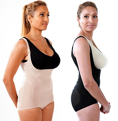 d4f540a863 Braless Lace Body Shaper With Adjustable Straps - INSTANT TUMMY TUCK  Miraclesuit Invisible Body Shaper Lifts up the breast and buttocks Seamless  Firm ...